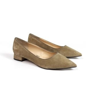 Adrienne Vittadini Falla Suede Pointed Toe Pumps